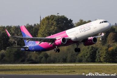 HA-LXK Airbus A321-231(WL) WizzAir