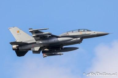 FB-22 General Dynamics F-16B(M) Fighting Falcon BAF