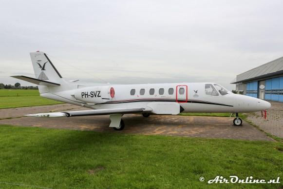PH-SVZ Cessna 550 Citation II
