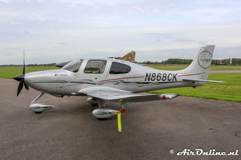 N868CK Cirrus SR22 gts Turbo