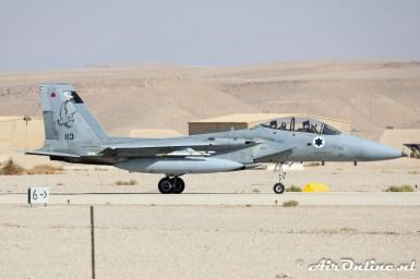 113 F-15B Baz 133sq Israeli Air Force