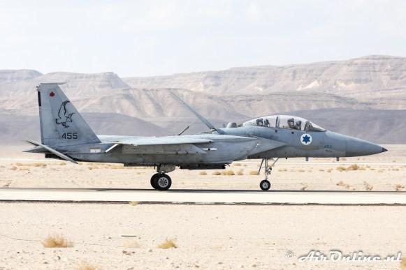 455 F-15D Baz 133sq Israeli Air Force