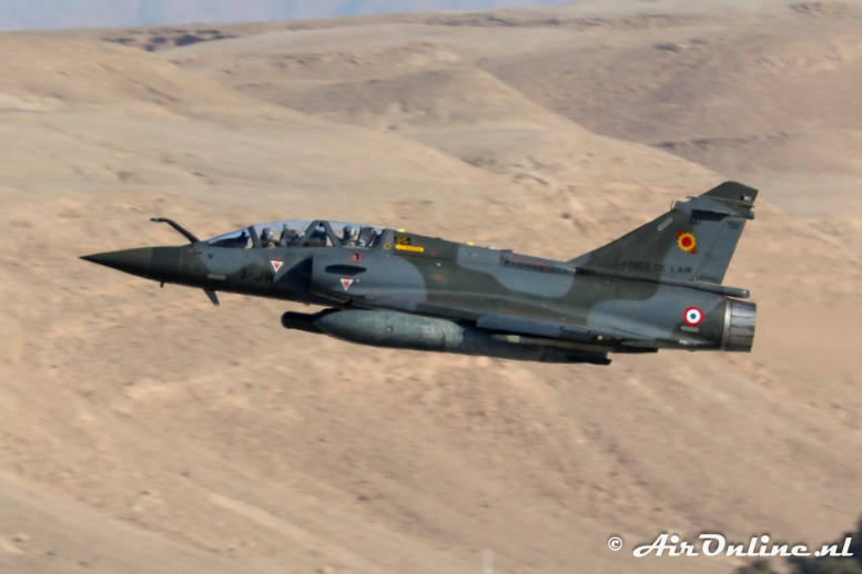 641 / 3-JW Dassault Mirage 2000D EC03.003 French Air Force