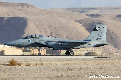 455 F-15D Baz 133sq Israeli Air Force