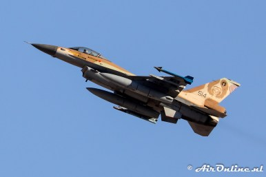 514 F-16C Block 40 Barak 101sq Israeli Air Force