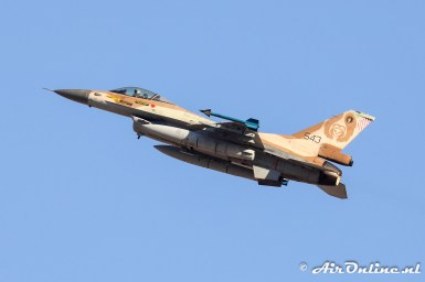 543 F-16C Block 40 Barak 101sq Israeli Air Force