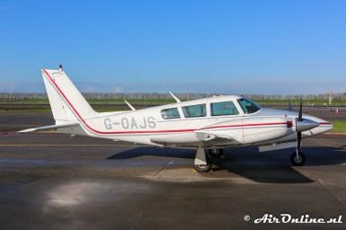 G-OAJS Piper PA-39 Twin Comanche C/R