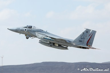 560 F-15C Baz 106sq Israeli Air Force