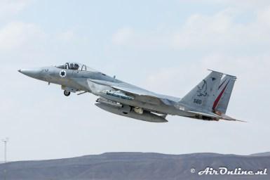 560 F-15C Baz 106sq Israeli Air Force