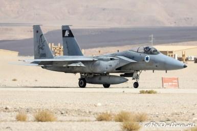 689 F-15A Baz 133sq Israeli Air Force