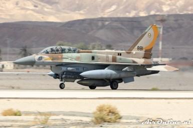 881 F-16I Sufa 107sq Israeli Air Force