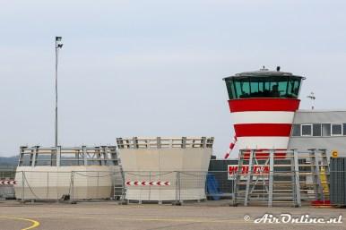 Verhoogde Lelystad Tower in aanbouw