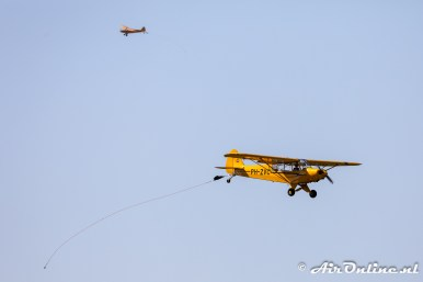 PH-WDR + PH-ZVC Piper PA-18-150 Super Cub