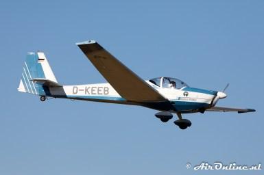 D-KEEB Scheibe SF.25C Rotax Falke