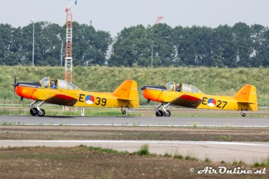 PH-HOG / E-39 + PH-HOL / E-27 Fokker S-11.1 Instructor