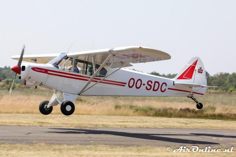OO-SDC Piper PA-18-150 Super Cub
