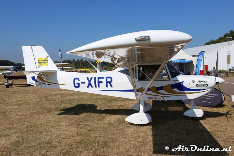 G-XIFR Lambert Mission M108