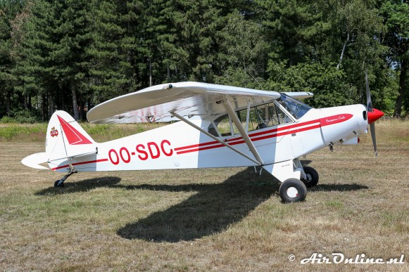 OO-SDC Piper PA-18-150 Super Cub