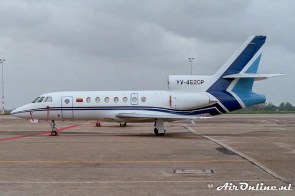 1525 YV-452CP Falcon 50 Schiphol