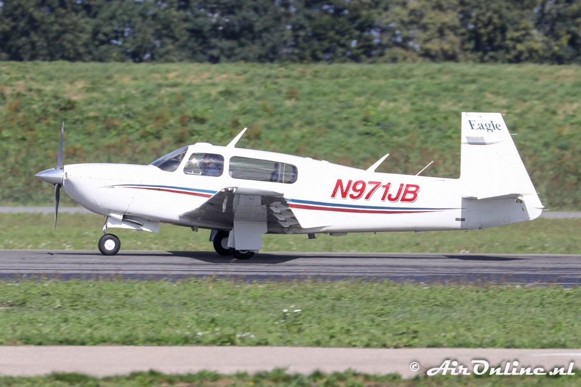 N971JB Mooney M20S Eagle
