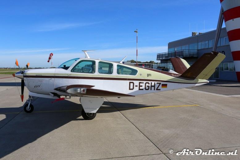 D-EGHZ Beech V35B Bonanza