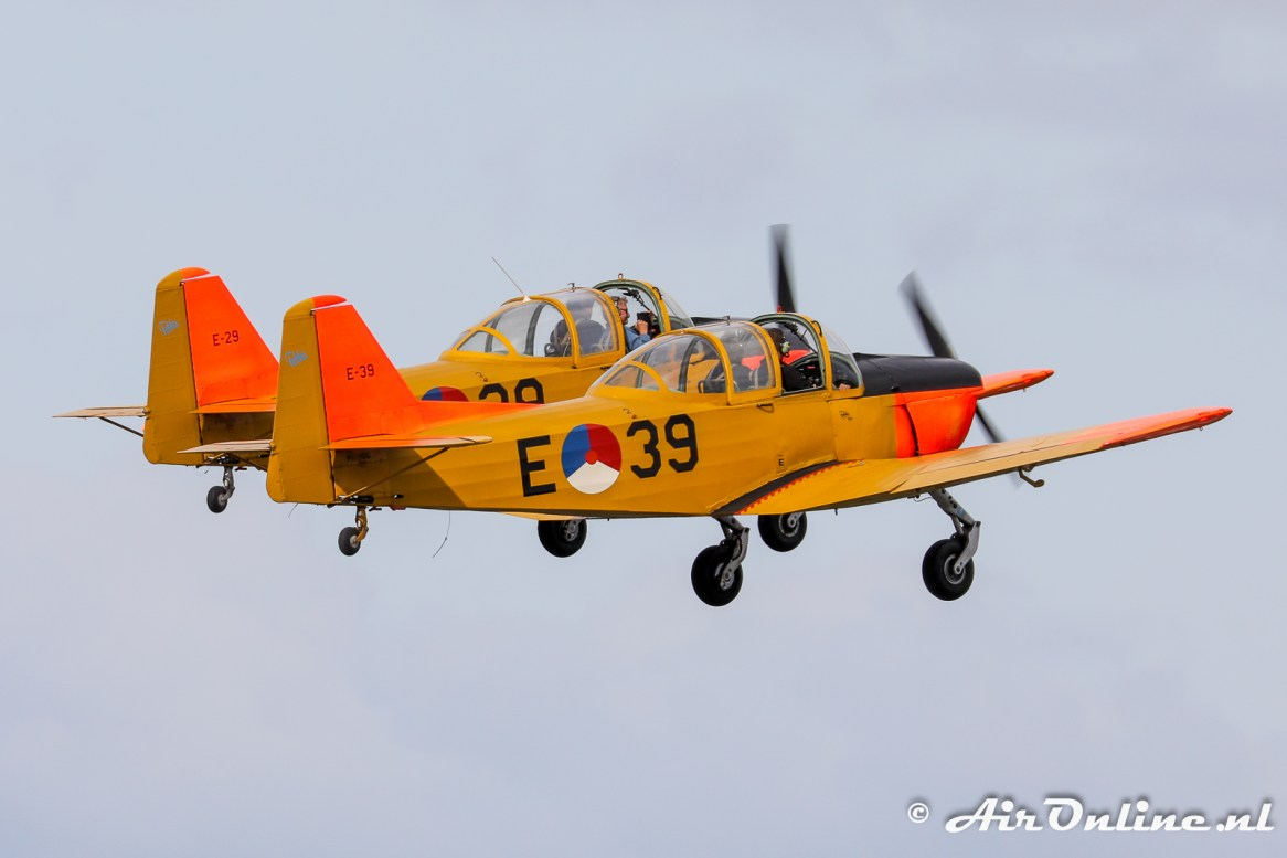 PH-HOG, PH-HOK Fokker S-11.1 Instructor