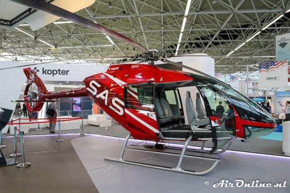 De HB-ZXA Kopter SH09; primeur 1