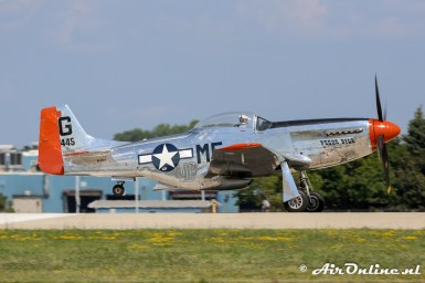 N4132A North American P-51D Mustang