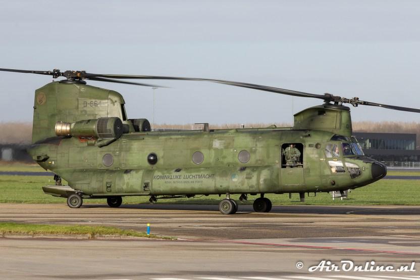 D-664 Boeing CH-47D Chinook KLu