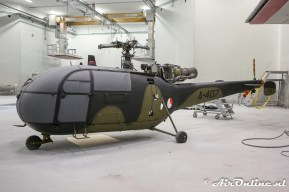 A-407 Sud Aviation SE 316B Alouette III ex KLu