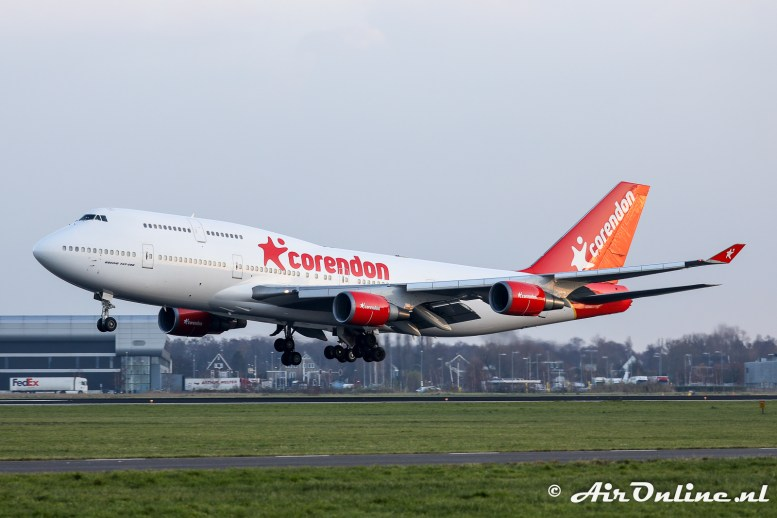 PH-BFB Boeing 747-406 Corendon