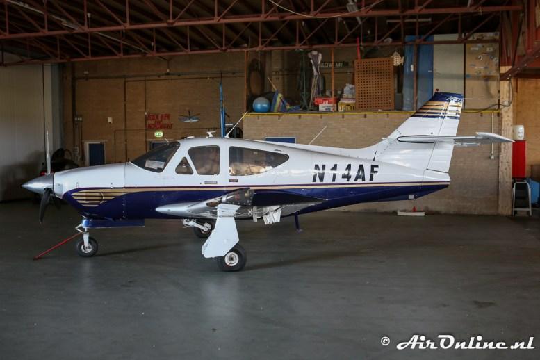 N14AF Rockwell Commander 112TC-A