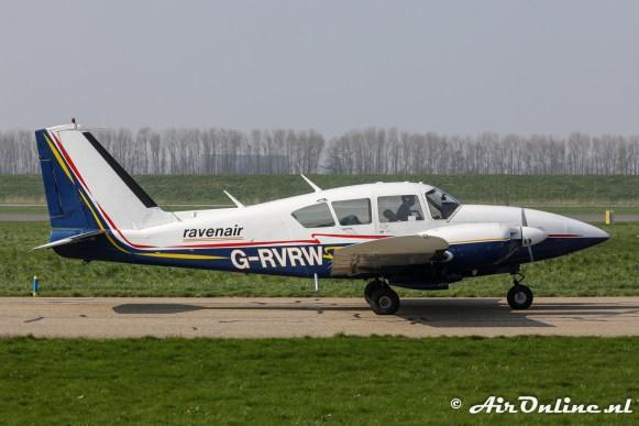 G-RVWR Piper PA-23-250 Aztec E