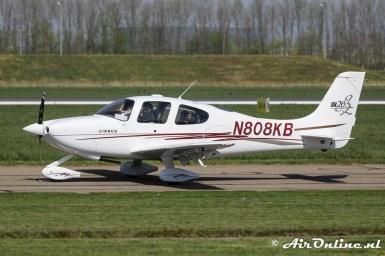 N808KB Cirrus SR20 g2