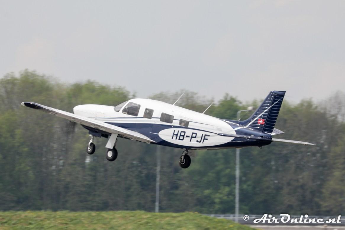 HB-PJF Piper PA-32R 301T Saratoga II TC
