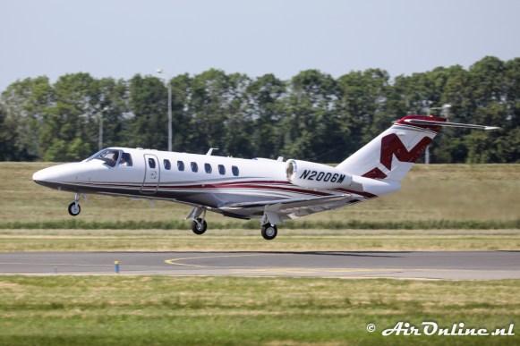 N2006M Cessna 525B CitationJet Cj3+