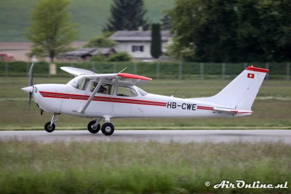 HB-CWE Reims/Cessna F172N Skyhawk II