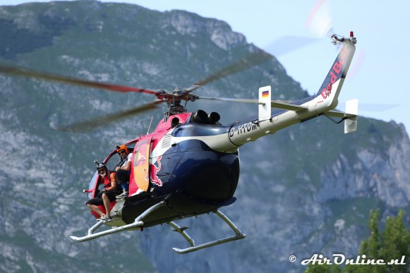 D-HTDM Bolkow Bo-105CBS-4 Paradropping Red Bull