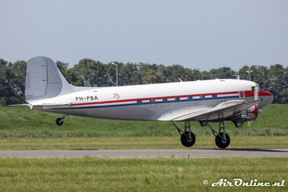 PH-PBA Douglas DC-3 Dakota