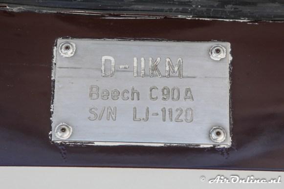 D-IIKM Beech C90A King Air