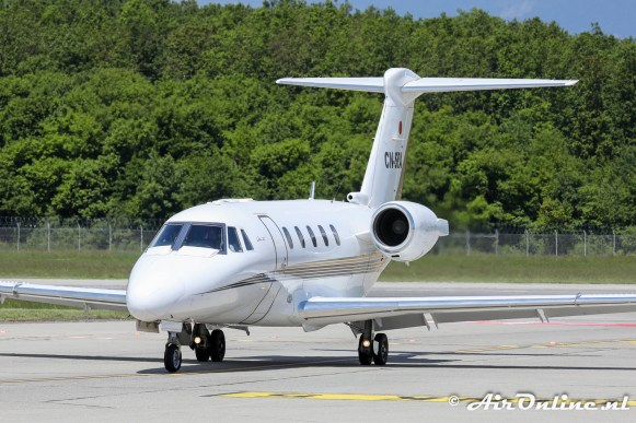 CN-SRA Cessna 650 Citation VII