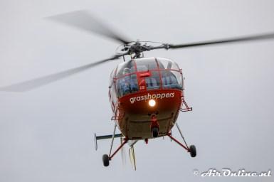'A-390' Sud Aviation SA-316B Alouette III scale model