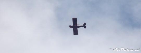 PH-MIL Sonex Aircraft Sonex vloog boven het veld op 2.500 ft
