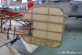 HB-RCV Blériot XI replica
