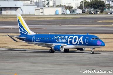JA13FJ Embraer ERJ-175STD - Fuji Dream Airlines