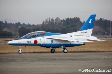 06-5787 / 4 Kawasaki T-4 Blue Impulse