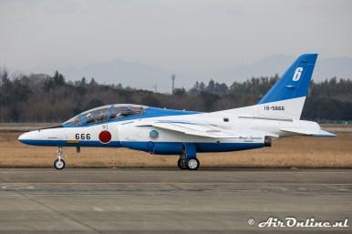16-5666 / 6 Kawasaki T-4 Blue Impulse