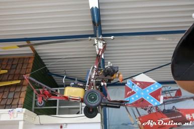 (N2893) Wickson-Bensen B-8M Gyrocopter