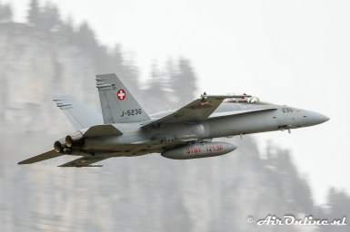 J-5236 McDonnell Douglas F/A-18D Hornet Swiss AF