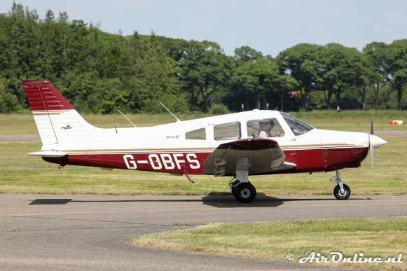 G-OBFS Piper PA-28-181 Warrioir III